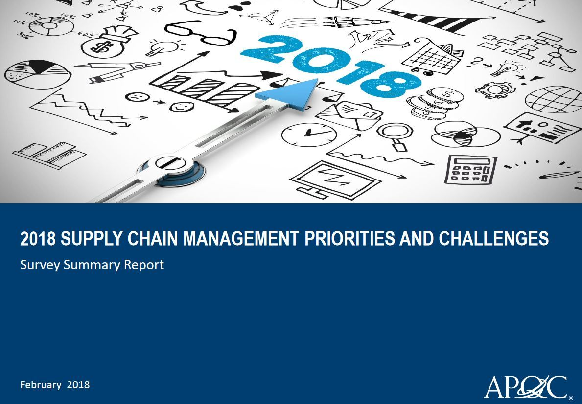 APQC Supply Chain Review 2018
